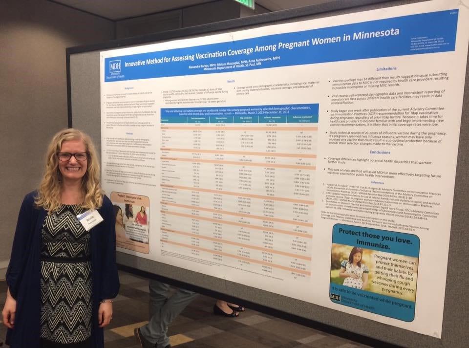 Annie Fedorowicz, Adolescent and Adult Immunization Coordinator, Minnesota Department of Health